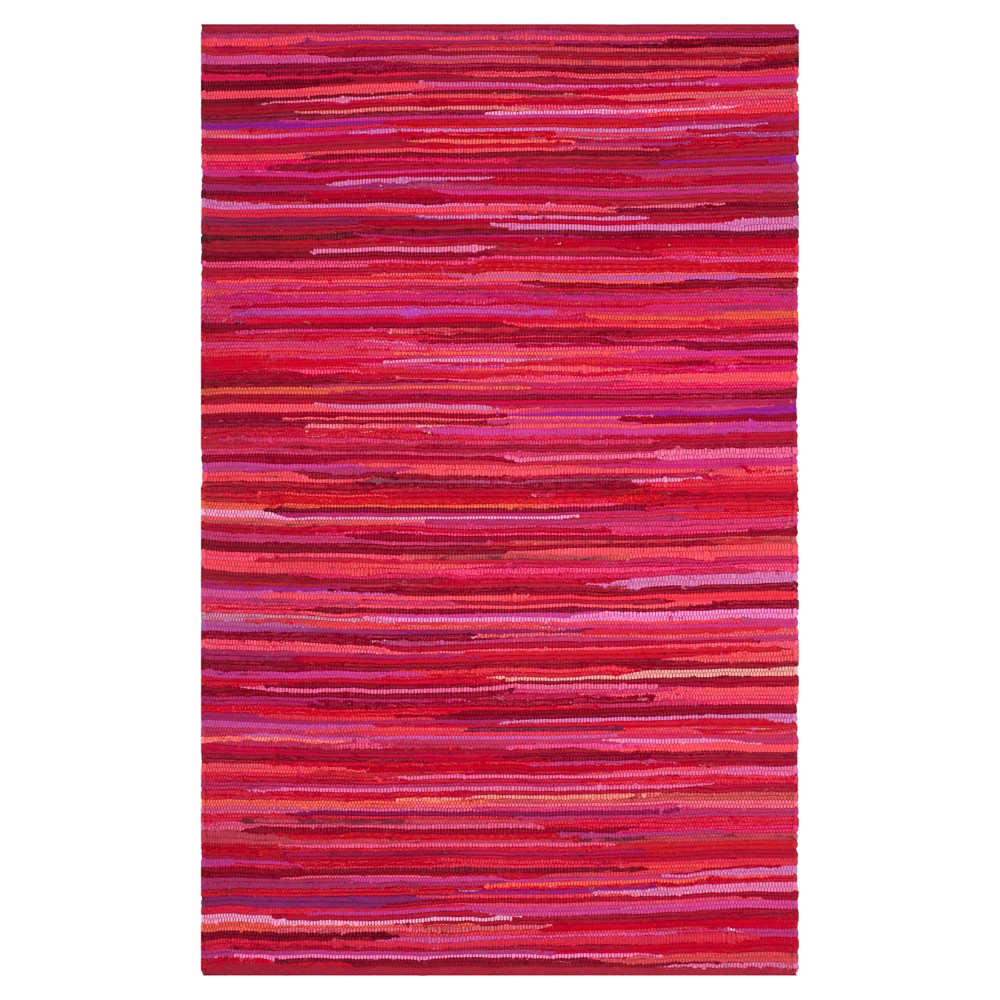 Spacedye Design Flatweave Woven Area Rug 8'X10' - Safavieh, Red/Multi