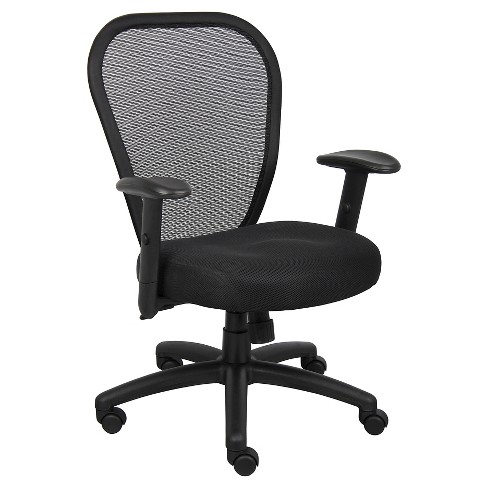 Professional Managers Mesh Chair Black - Boss Office Products - image 1 of 1