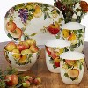 3pc Earthenware Ambrosia Canister Set - Certified International - image 2 of 2