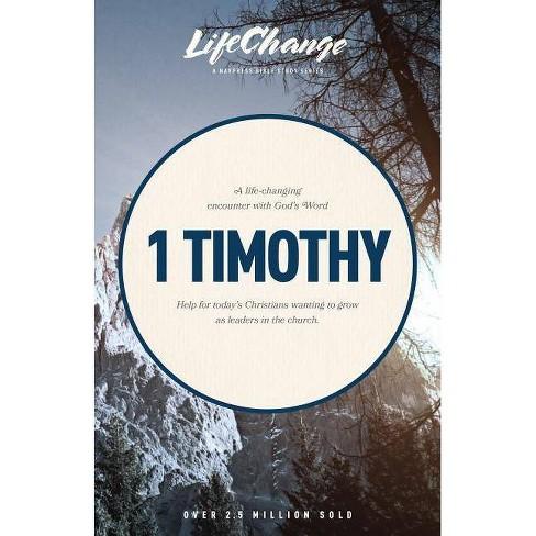 1 Timothy - (LifeChange) (Paperback) - image 1 of 1