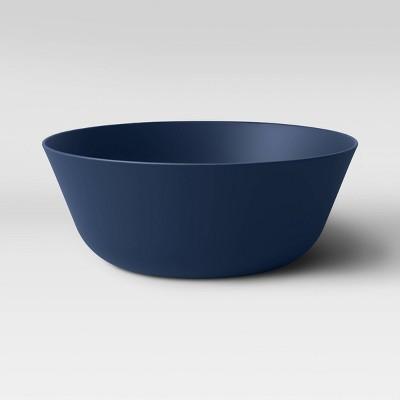 114oz Plastic Serving Bowl Dark Blue - Room Essentials™