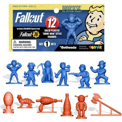 Toynk Fallout Nanoforce Series 1 Army Builder Figure Collection - Bagged Set 1