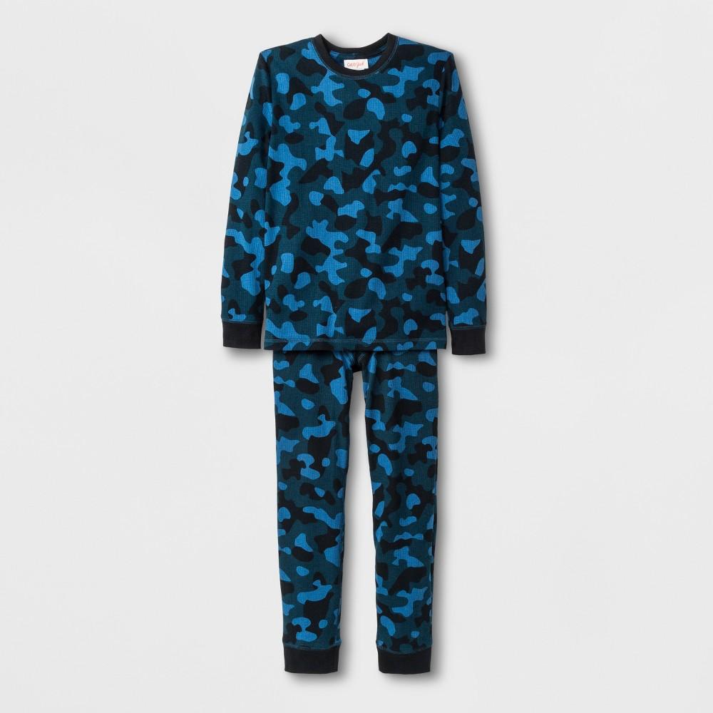 Boys' Thermal Underwear Set - Cat & Jack Blue XS