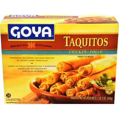 Goya Chicken Frozen Taquitos - 5oz