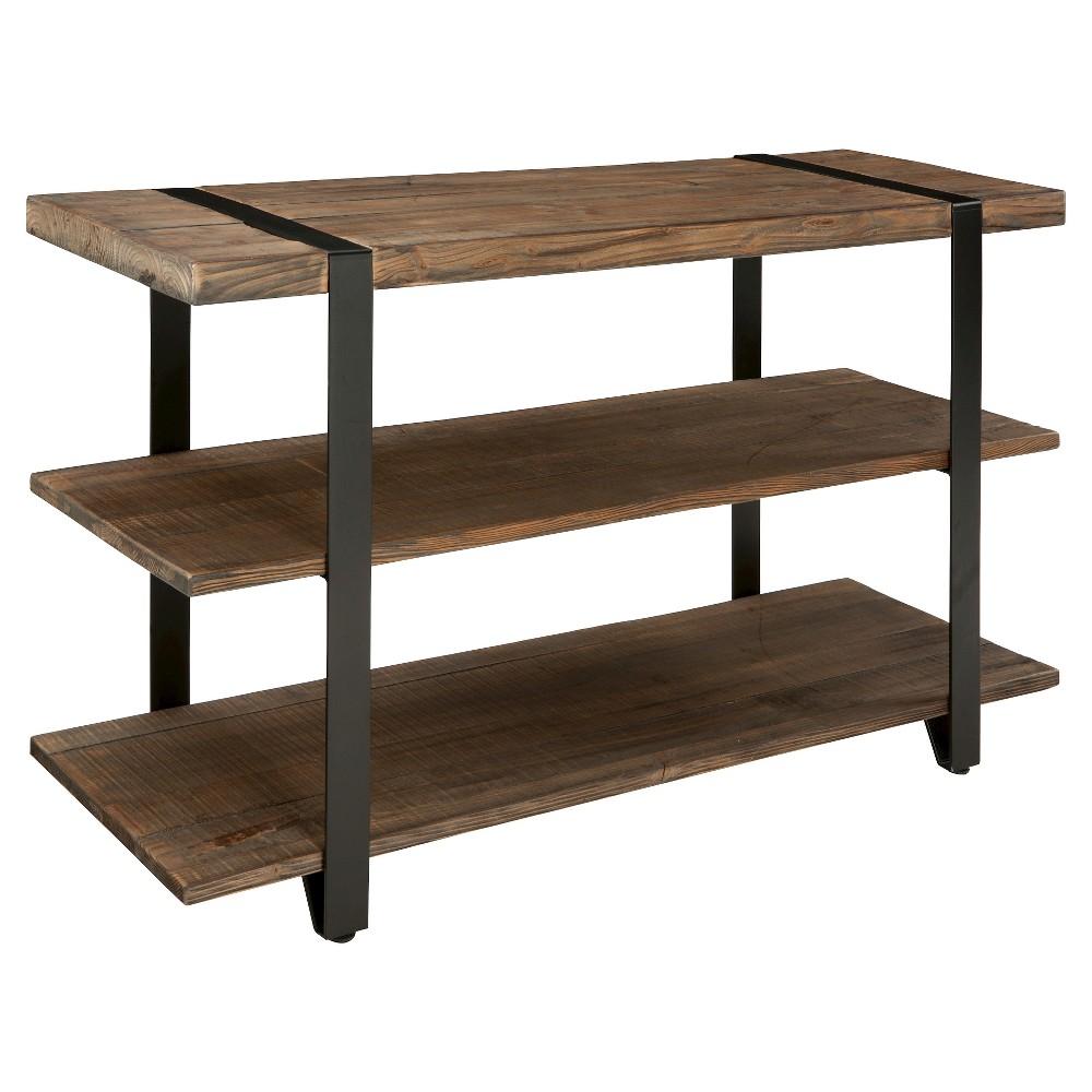 48  Modesto Wide TV Stand Brown - Alaterre Furniture 48  Modesto Wide TV Stand Brown - Alaterre Furniture