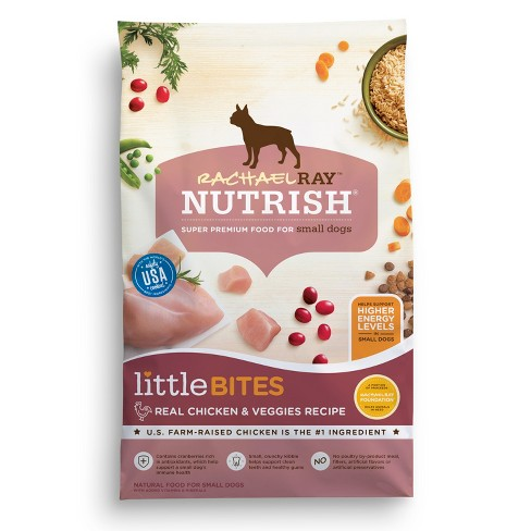 Rachael Ray Nutrish Little Bites Real Chicken & Veggies Dry Dog Food - image 1 of 2