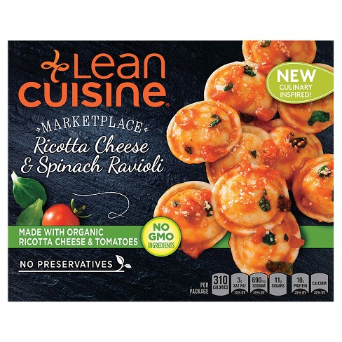 Lean Cuisine Marketplace Ricotta Cheese and Spinach Ravioli - 8oz - image 1 of 1