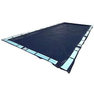 Swimline Deluxe 18x36 Dark Blue Winter Rectangular Inground Swimming Pool Cover