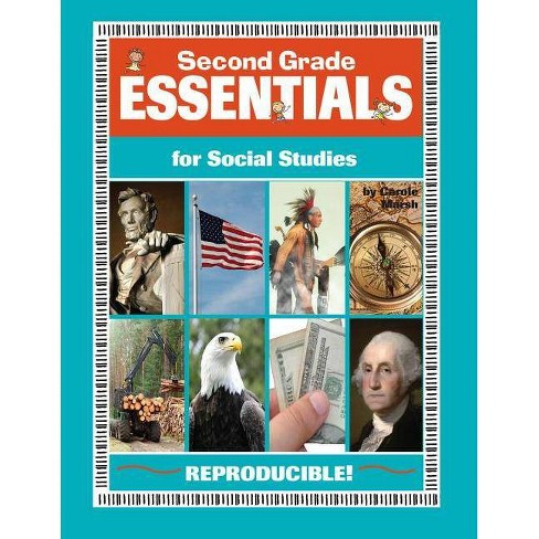 Second Grade Essentials for Social Studies - (Everything Book) by  Carole Marsh (Paperback) - image 1 of 1