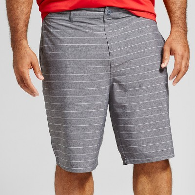 "Men's Big & Tall Current Hybrid Shorts 10.5"" - Goodfellow & Co™ Black"