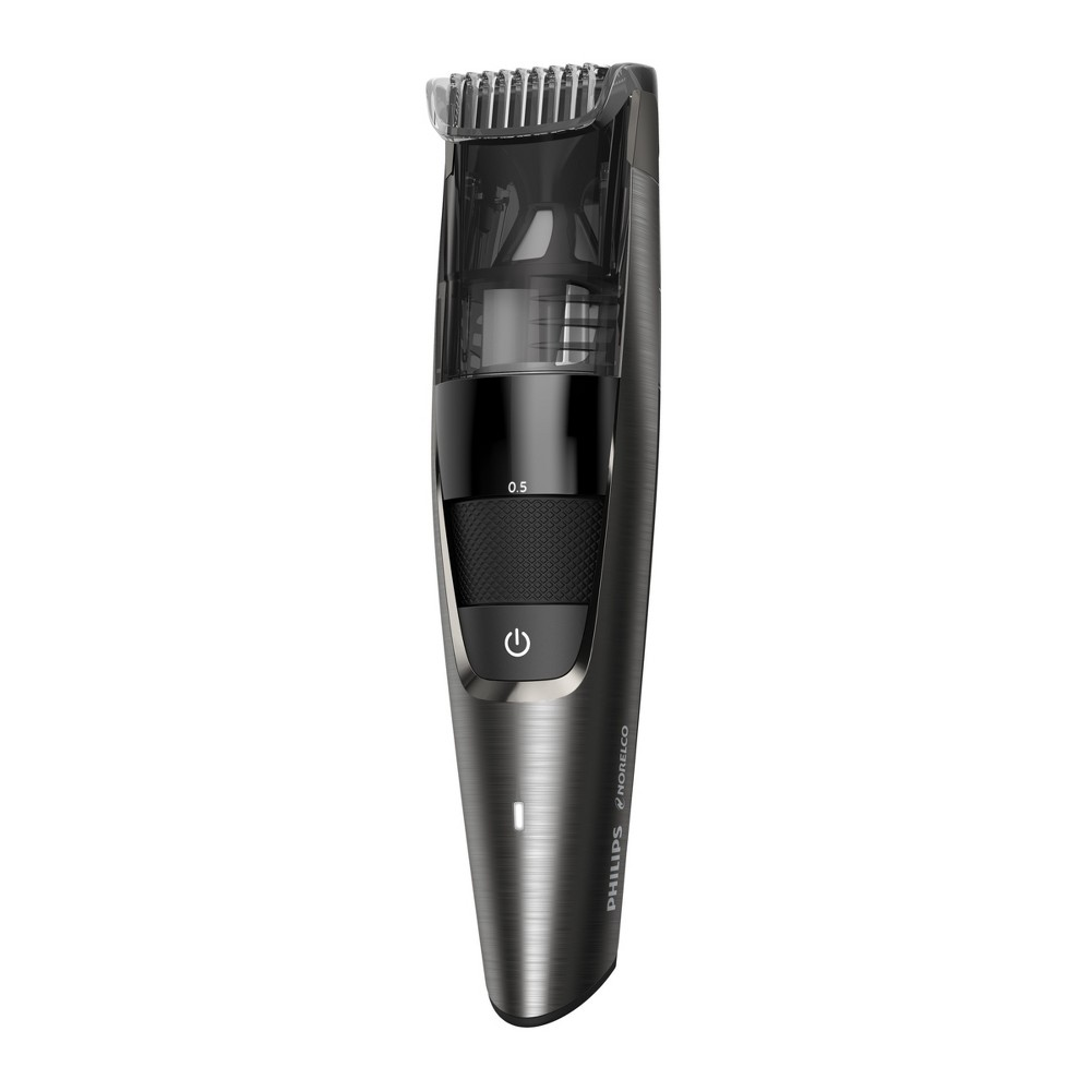 Image of Philips Norelco Series 7000 Beard & Hair Men's Electric Trimmer with Vacuum - BT7515/49