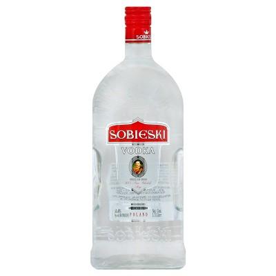 Sobieski Vodka - 1.75L Plastic Bottle