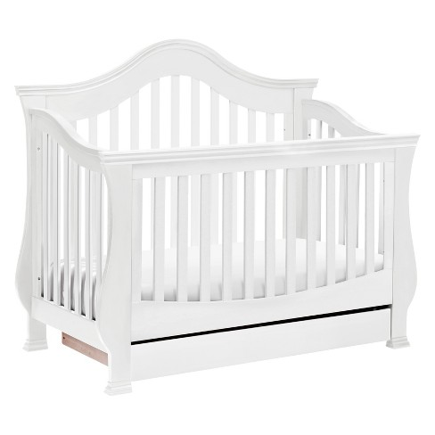 Million Dollar Baby Classic Ashbury 4-in-1 Convertible Crib with Toddler Rail - image 1 of 4