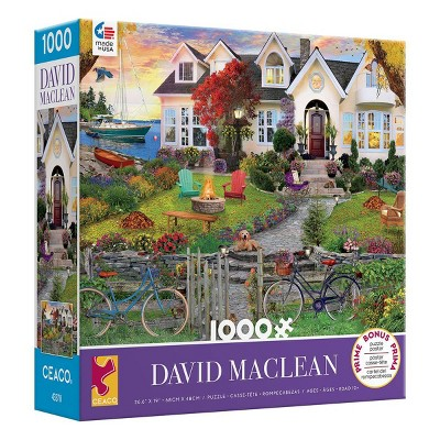 Ceaco Maclean: Costside Home Jigsaw Puzzle - 1000pc