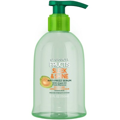 Hair Styling: Garnier Fructis Sleek & Shine Anti-Frizz Serum