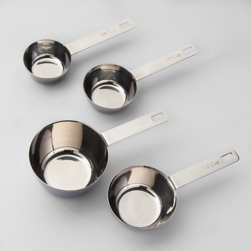 Stainless Steel Measuring Cups - Made By Design™ - image 1 of 4