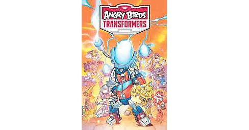 Angry Birds Transformers : Age of Eggstinction (Hardcover) (John Barber) - image 1 of 1