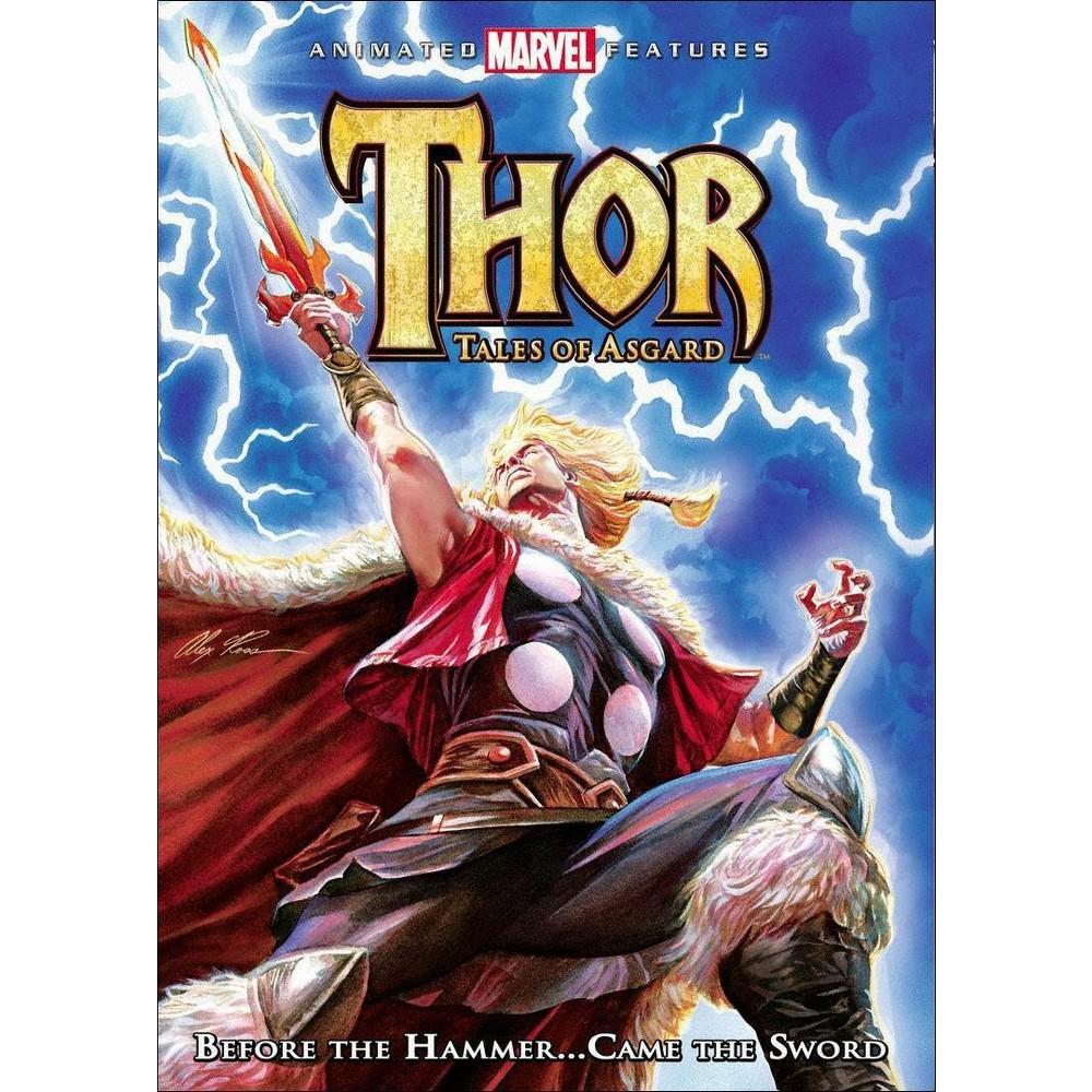Thor Tales Of Asgard Dvd