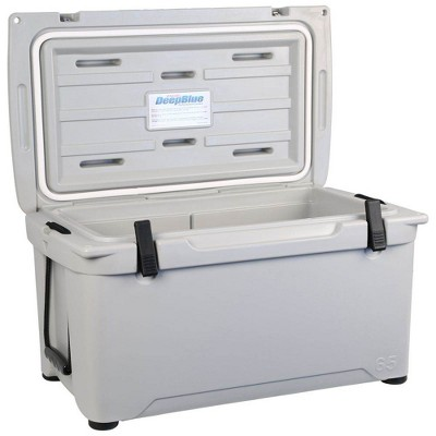 Engel Coolers 58 Quart 70 Can High Performance Roto Molded Ice Cooler, Gray