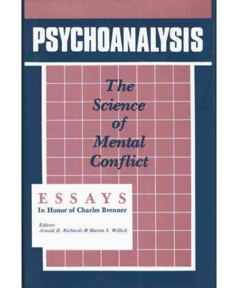 Psychoanalysis : The Science of Mental Conflict (Paperback) - image 1 of 1