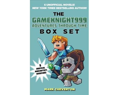 Gameknight999 Adventures Through Time (Paperback) (Mark Cheverton) - image 1 of 1