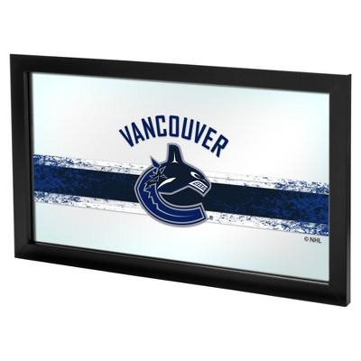 NHL Framed Logo Mirror