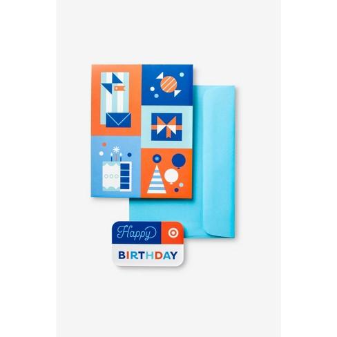 Birthday Symbols GiftCard + Free Greeting Card - image 1 of 3