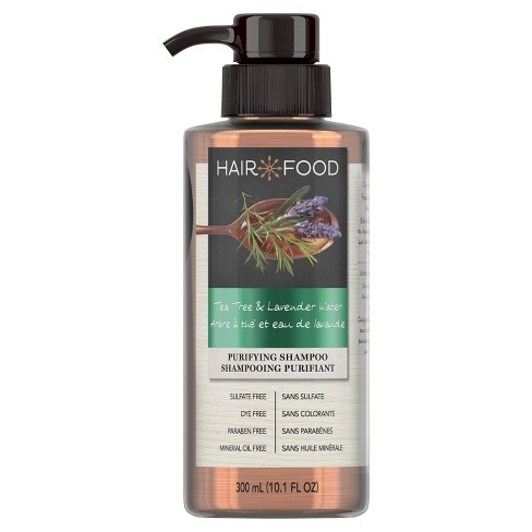 Hair Food Tea Tree & Lavender Sulfate-Free Dye-Free Purifying Shampoo - 10.1 fl oz - image 1 of 4