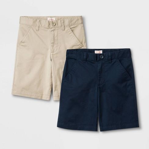 Boys' Uniform Chino Shorts - Cat & Jack™ - image 1 of 3