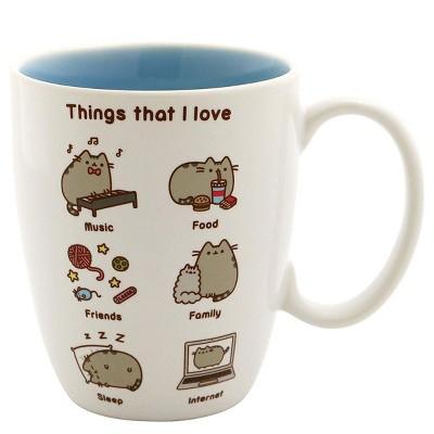 Pusheen The Cat Pusheen Sculpted Mug 16 oz