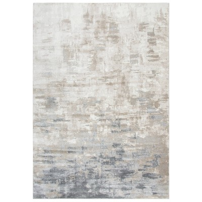 Encore Abstract Area Rug Beige - Rizzy Home