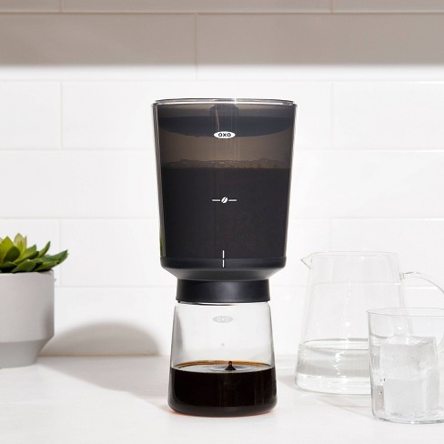 OXO 4 Cup Compact Cold Brew Coffee Maker - Black 11237500 - image 1 of 4