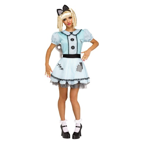 Women's Wind-Up Doll Halloween Costume L - image 1 of 1
