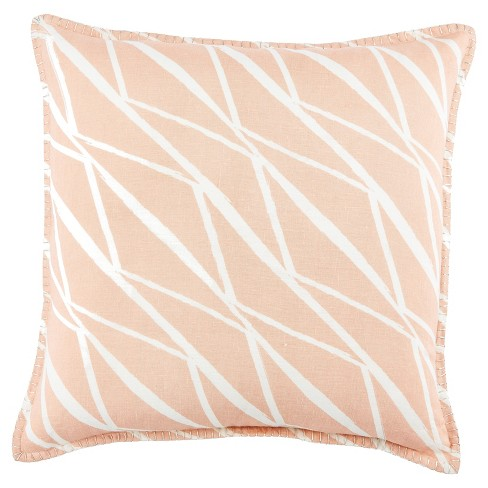 """22""""x22"""" Moroccan Cosmic Throw Pillow Cover Pink - Jaipur Living - image 1 of 1"""
