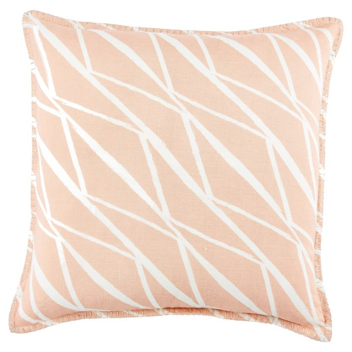 "Pink Moroccan Cosmic Throw Pillow Cover (22""x22"") - Jaipur Living - image 1 of 1"