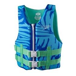 Speedo CB Youth PFD Boys' Life Jacket Vest - Blue Hawaii
