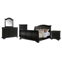 Picket House Furnishings Conley 6 Piece Queen Sleigh Bedroom Set
