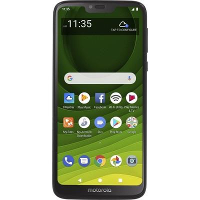 Simple Mobile Moto g7 Optimo Maxx 4G LTE Prepaid (32GB) - Blue