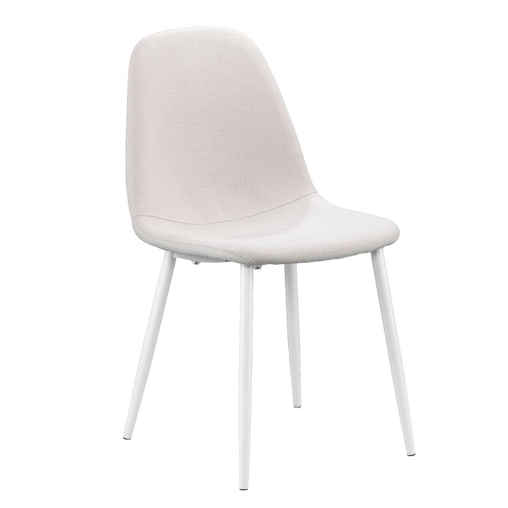Hardin Dining Chairs (Set of 4) White - Aiden Lane