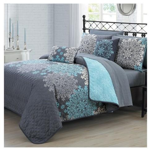 Geneva Home Fashion Avondale Manor Amber Quilt & Sham Set - image 1 of 1