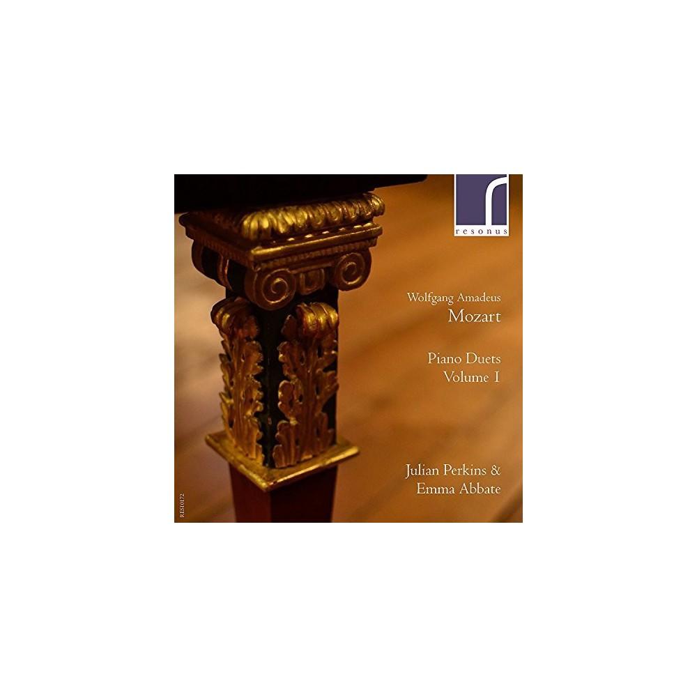 Julian Perkins - Mozart:Piano Duets Vol 1 (CD)