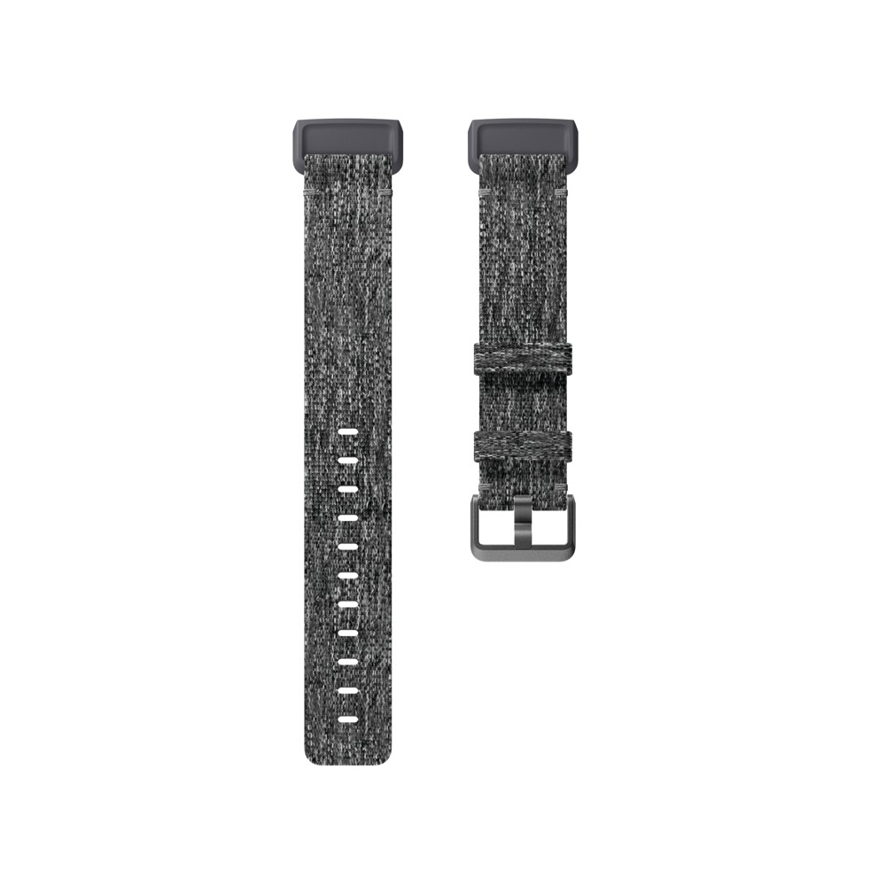 Fitbit Charge 3 Small Woven Band - Charcoal, Gray