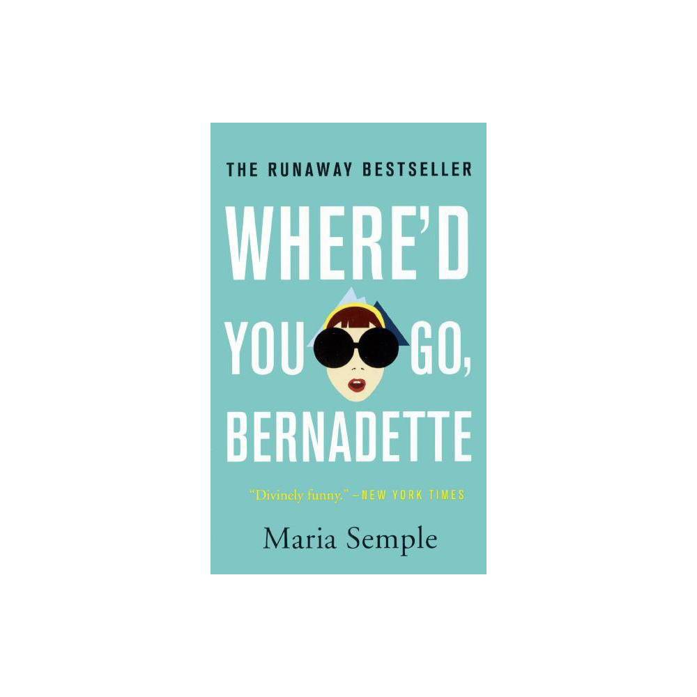 Where'd You Go Bernadette book review!  This book is witty, fun and fashionable, just like Bernadette.