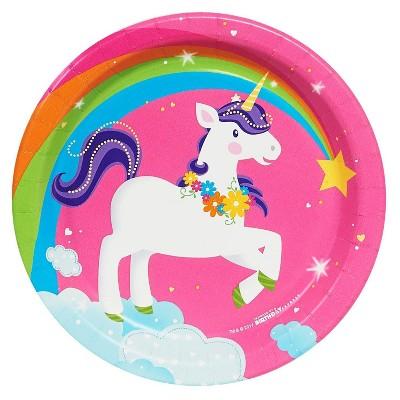 Fairytale Unicorn Party Dessert Plate