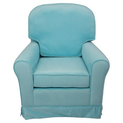 Eve Upholstered Glider Chair   Aqua : Target