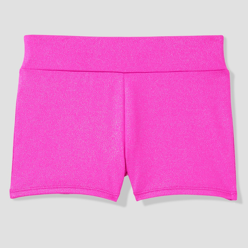Freestyle by Danskin Girls' Activewear Shorts - Pink 4T
