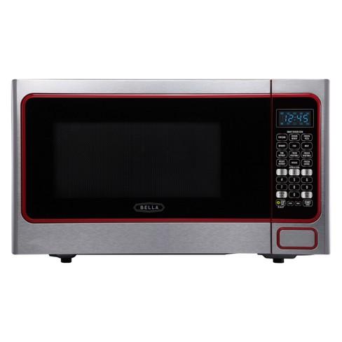 Bella 1 Cu Ft 1100 Watt Microwave Stainless Steel Bmo11abtbke