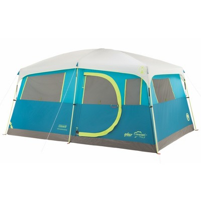 Coleman Tenaya Lake Fast Pitch 8-Person Cabin with Closet - Light Blue