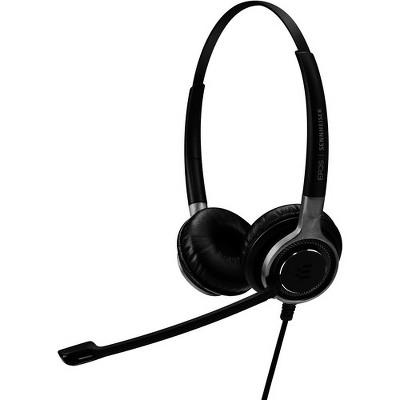 EPOS   SENNHEISER IMPACT SC 665 USB - Mini-phone (3.5mm), USB - Wired - 50 Hz - 18 kHz - On-ear - 9.51 ft Cable - Noise Canceling - Black/Silver