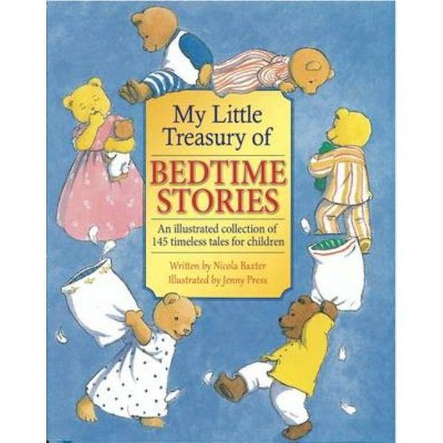 My Little Treasury of Bedtime Stories - by Nicola Baxter (Hardcover)